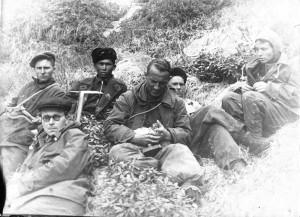 Фото 2 -Калашников и Пахарькова на Кодаре 1950 г