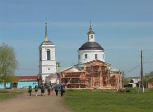 Ореховец церковь 2008
