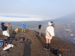 На вулкане Авачинский
