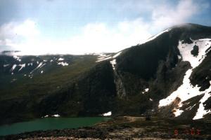 Озеро у базы Ж