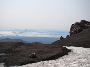 С вулкана Авачинский