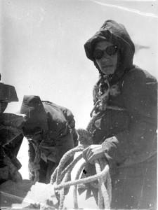 Пахарькова на в. Караугом, 1948 г