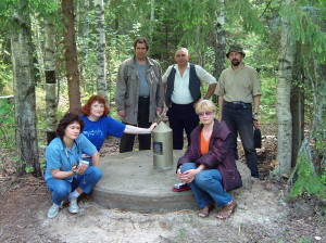 23 2004-05 Лето Стеклянный-золотой столб 1