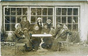 Открытка из Сарова в Стёксово 1913 со штампом