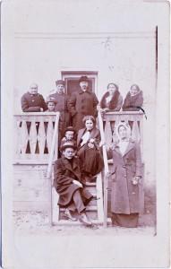Открытка из Сарова в Стёксово 1914 со штампом