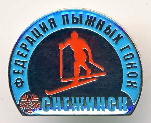 А2 2010-е СНЕЖИНСК федерация лыжных гонок 18х15 бм эпокс цанга
