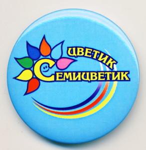 А2 2010-е цветик семицветик 50мм жесть бул дс№8 Заречный