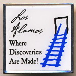 А6 Los Alamos Where Discoveries... www.pinpros.com CHINA 32мм сталь
