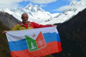 Фото 6 - А. В. Баринов у Эвереста