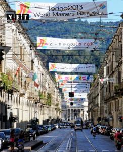 Рисунок 1 - Улицы Турина ждут ветеранов спорта  всего мира