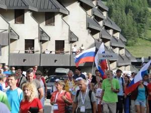 Рисунок 2 - Россия выдвигается на парад