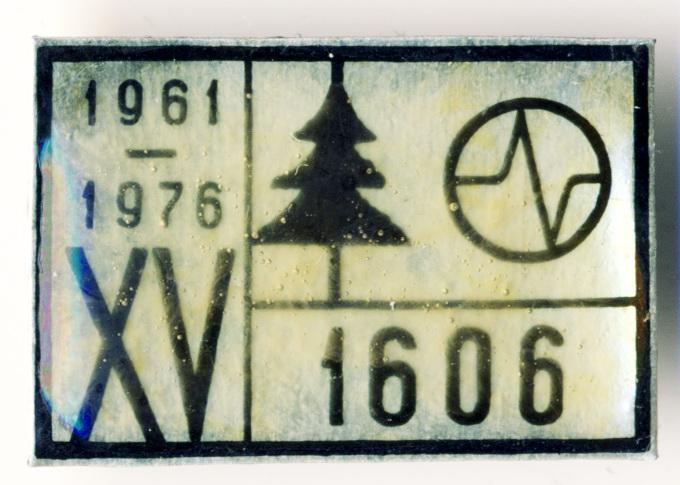В2 1976 1606 XV 27х18 жесть бул