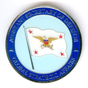 АМ3 2000-е ASSISTANT SECRETARY OF DEFENSE GSA 44мм 3мм бм гэ-В.Степанюк