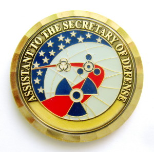 АМ3 2000-е ASSISTANT to the SECRETARY DEFENSE 39мм 2.5мм жм гэ-В.Степанюк