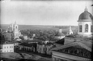 1933 Арзамас Соборная площадь негатив