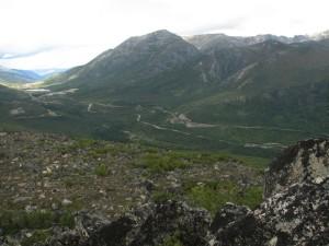 16. Северомуйский перевал, автодорога, старый путь БАМа