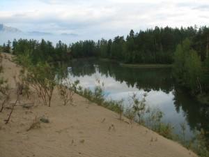 33. Чарские Пески, озеро Аленушка
