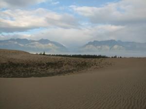 36. Чарские Пески, ущелье Среднего Сакукана