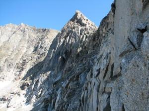 На стене перевала Ленинградец