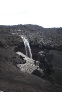 28. Водопад на пути к Плоскому Толбачику