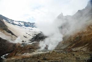 50. Дно первого кратера вулкана Мутновский