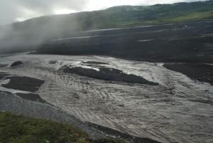 7. Река студеная вышла из берегов