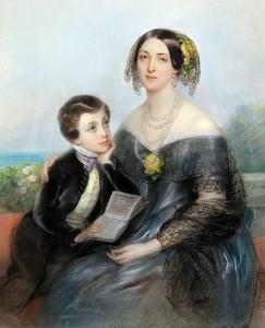 Аврора с сыном