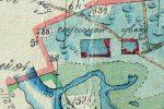 Нижний Сатис (Сатисский двор) в 1814 году